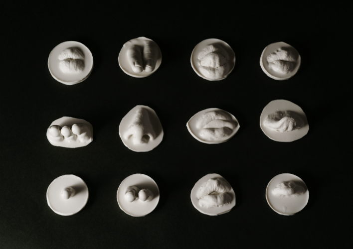 silicone casts   2012