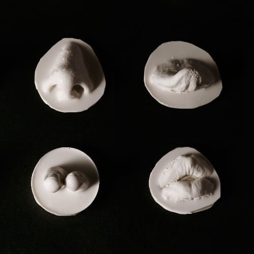 silicone casts   2012 (detail)