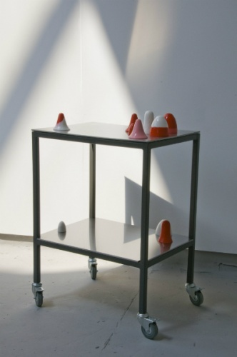 rubber casts, steel  2008